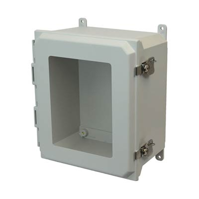 Allied Moulded AMU1648TW NEMA 4X Fiberglass Enclosure