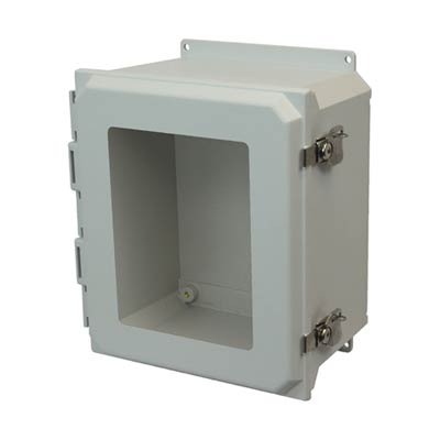 Allied Moulded AMU1648TWF NEMA 4X Fiberglass Enclosure