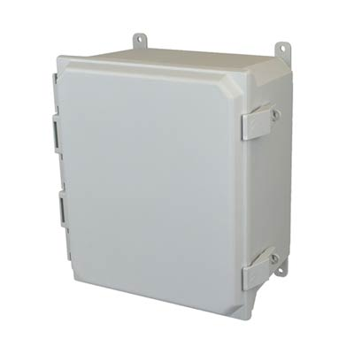 Allied Moulded AMU1860NL NEMA 4X Fiberglass Enclosure_THUMBNAIL