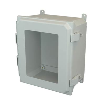 Allied Moulded AMU1860NLW NEMA 4X Fiberglass Enclosure