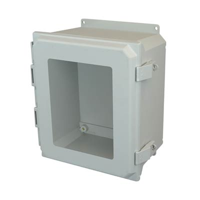 Allied Moulded AMU1860NLWF NEMA 4X Fiberglass Enclosure
