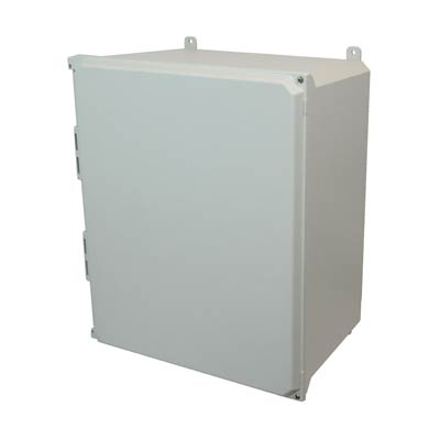 Allied Moulded AMU2060H NEMA 4X Fiberglass Enclosure