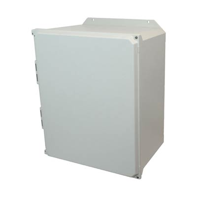 Allied Moulded AMU2060HF NEMA 4X Fiberglass Enclosure