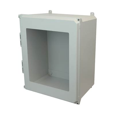 Allied Moulded AMU2060HW NEMA 4X Fiberglass Enclosure