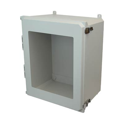 Allied Moulded AMU2060LW NEMA 4X Fiberglass Enclosure