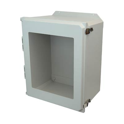 Allied Moulded AMU2060LWF NEMA 4X Fiberglass Enclosure