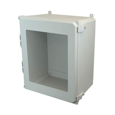 Allied Moulded AMU2060NLW NEMA 4X Fiberglass Enclosure