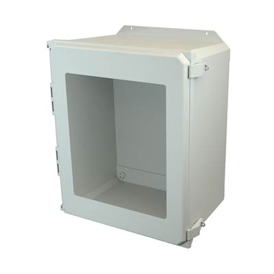 Allied Moulded AMU2060NLWF NEMA 4X Fiberglass Enclosure