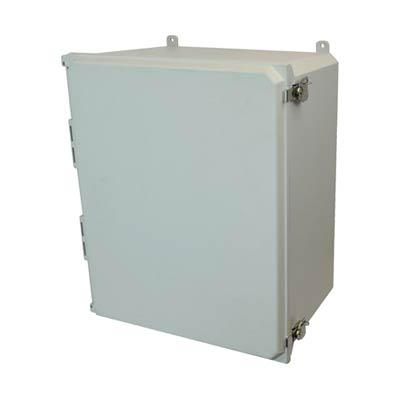 Allied Moulded AMU2060T NEMA 4X Fiberglass Enclosure