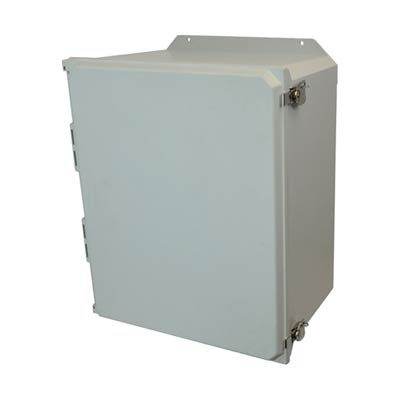 Allied Moulded AMU2060TF NEMA 4X Fiberglass Enclosure