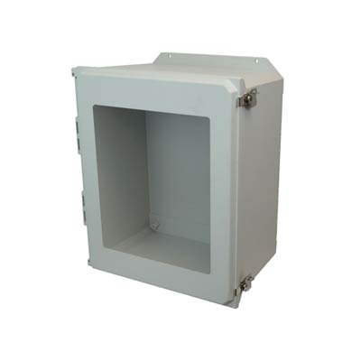 Allied Moulded AMU2060TWF NEMA 4X Fiberglass Enclosure