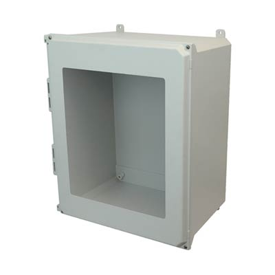 Allied Moulded AMU2060W NEMA 4X Fiberglass Enclosure