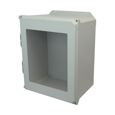 Allied Moulded AMU2060WF NEMA 4X Fiberglass Enclosure
