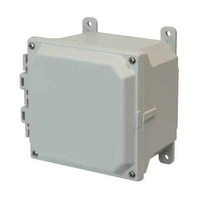 Allied AMU664 NEMA 4X & 6P Fiberglass Enclosure