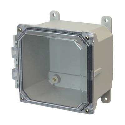 Allied AMU664CC NEMA 4X & 6P Fiberglass Enclosure