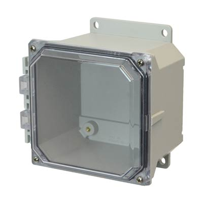 Allied AMU664CCF NEMA 4X & 6P Fiberglass Enclosure