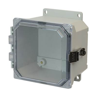 Allied Moulded AMU664CCLF NEMA 4X Fiberglass Enclosure