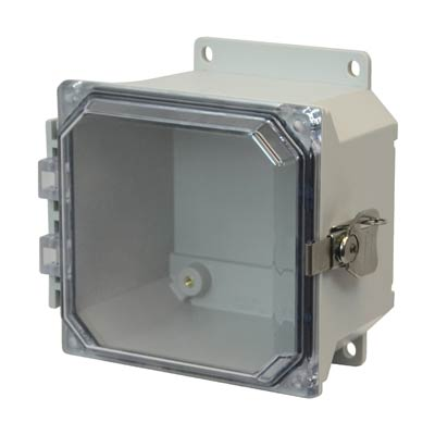 Allied Moulded AMU664CCTF NEMA 4X Fiberglass Enclosure