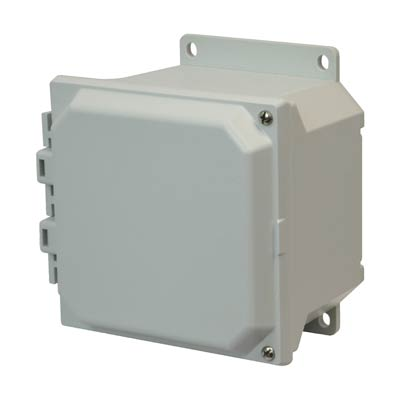 Allied Moulded AMU664HF NEMA 4X Fiberglass Enclosure