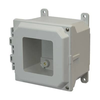 Allied Moulded AMU664HW NEMA 4X Fiberglass Enclosure