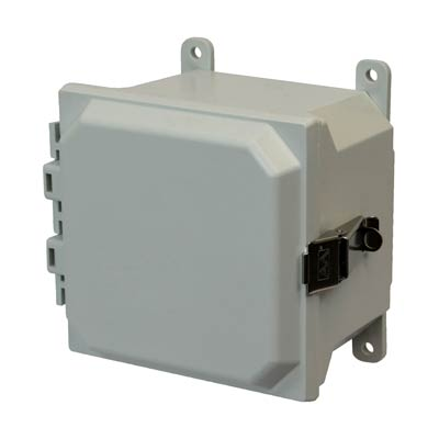 Allied Moulded AMU664L NEMA 4X Fiberglass Enclosure_THUMBNAIL