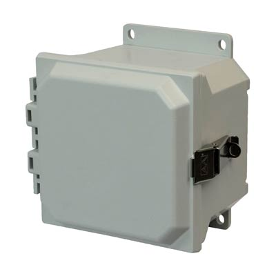 Allied Moulded AMU664LF NEMA 4X Fiberglass Enclosure_THUMBNAIL