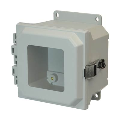 Allied Moulded AMU664LWF NEMA 4X Fiberglass Enclosure