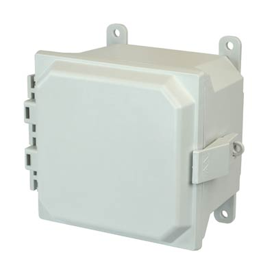 Allied Moulded AMU664NL NEMA 4X Fiberglass Enclosure