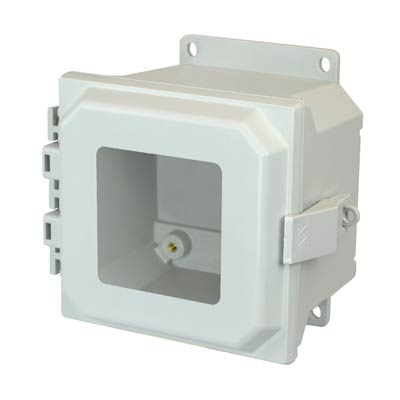 Allied Moulded AMU664NLWF NEMA 4X Fiberglass Enclosure