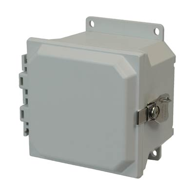 Allied Moulded AMU664TF NEMA 4X Fiberglass Enclosure