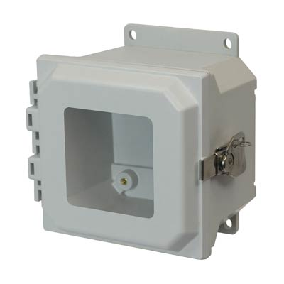 Allied Moulded AMU664TWF NEMA 4X Fiberglass Enclosure