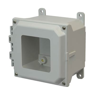 Allied Moulded AMU664W NEMA 4X Fiberglass Enclosure