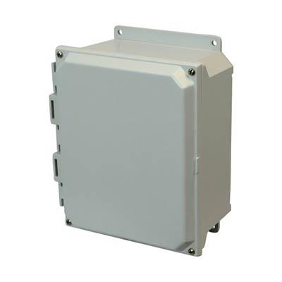 Buy 8x6x4 Fiberglass Enclosure | AMU864F on Outdoor Water Softener Enclosure  id=12613