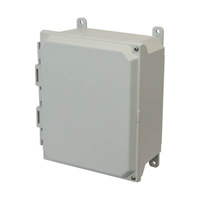 Allied Moulded AMU864H NEMA 4X Fiberglass Enclosure