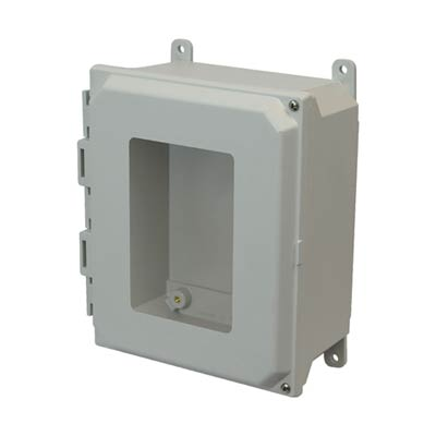 Allied Moulded AMU864HW NEMA 4X Fiberglass Enclosure