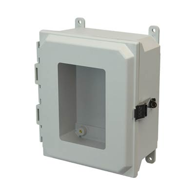 Allied Moulded AMU864LW NEMA 4X Fiberglass Enclosure