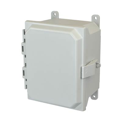 Allied Moulded AMU864NL NEMA 4X Fiberglass Enclosure