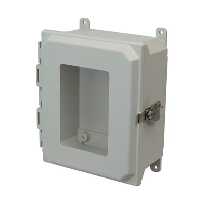 Allied Moulded AMU864TW NEMA 4X Fiberglass Enclosure