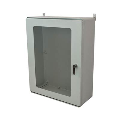 Allied Moulded AMXL403212L3PTW NEMA 4X Fiberglass Enclosure