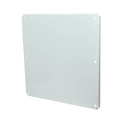 Carbon Steel Back Panel for 24x24 Enclosures | P2424