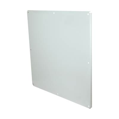 Allied Moulded P3636CS Carbon Steel Back Panel
