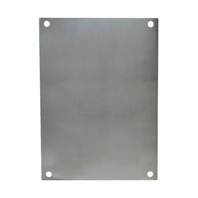 Allied Moulded PA164 Aluminum Back Panel
