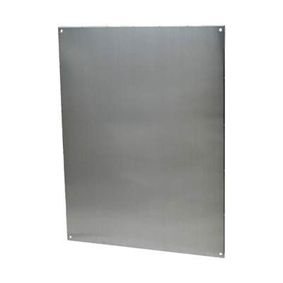 Aluminum Back Panel for 20x16 Enclosures | PA206
