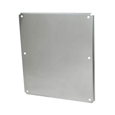 Aluminum Back Panel for 24x24 Enclosures | PA2424