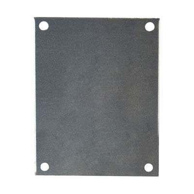 Allied Moulded PA74 Aluminum Back Panel
