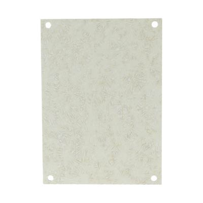 Fiberglass Back Panel for 12x10 Enclosures | PF120