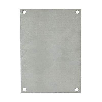 Galvannealed Back Panel for 12x10 Enclosures | PG120