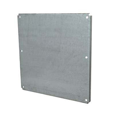 Galvannealed Back Panel for 24x24 Enclosures | PG2424