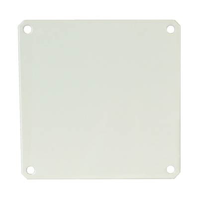 Carbon Steel Back Panel for 6x6 Enclosures | PL66