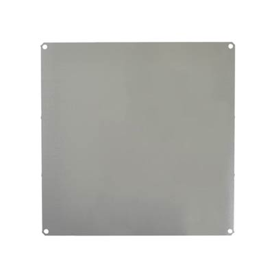 Aluminum Back Panel for 12x12 Enclosures | PLA122